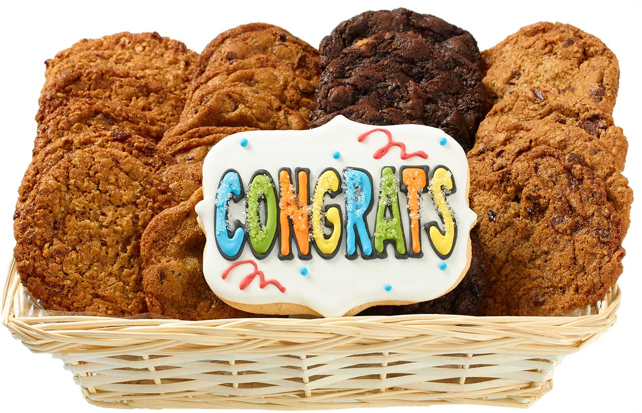 Gourmet Cookie Gift Baskets