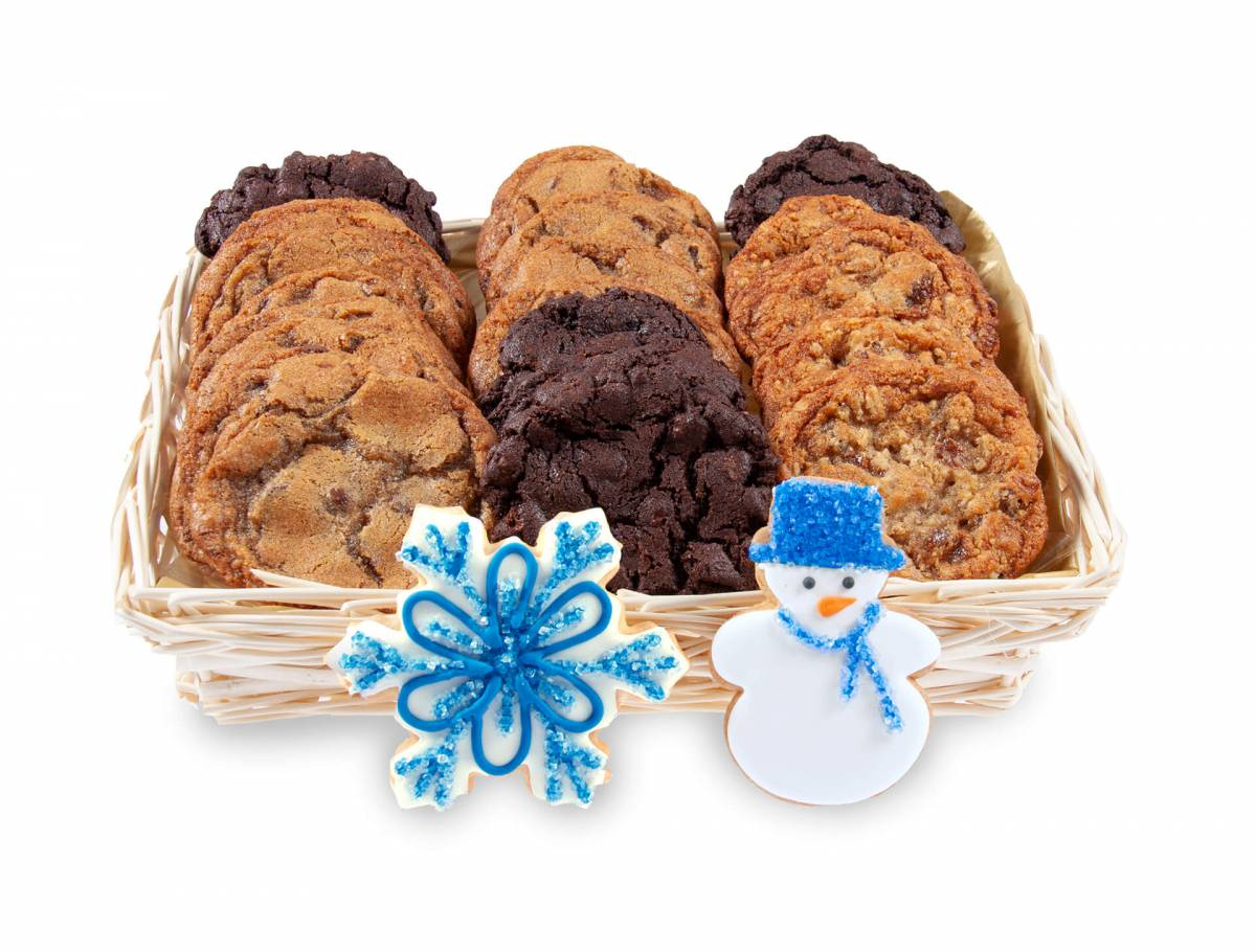 Send a Christmas cookie gift delivery in Montreal