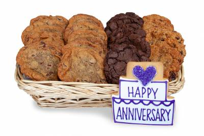 Gift baskets cookie delivery montral anniversary gift basket negle Image collections
