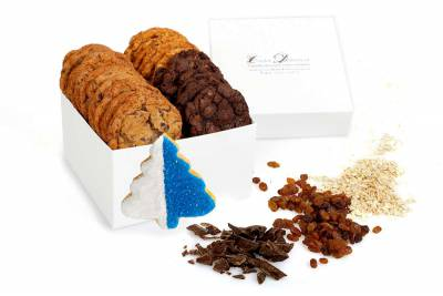 Blue Tree Holiday Gift Box
