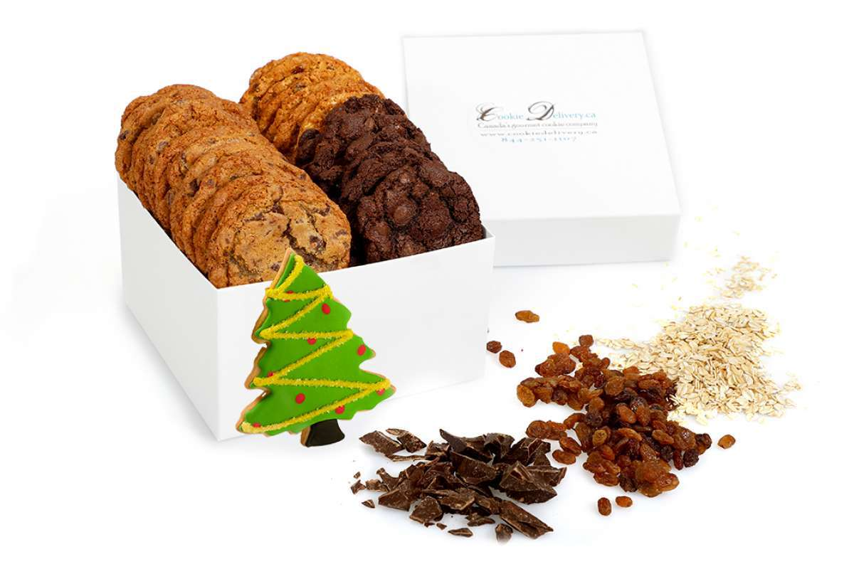 Christmas Tree Gift Box   Christmas Boxes - Large Cookies   Cookie ...