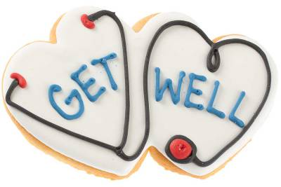 Select the Get Well Sugar Cookie