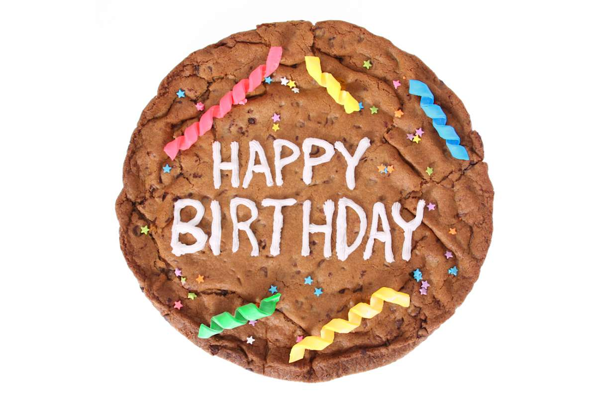 Happy Birthday Cookiegram Cookiegrams Cookie Deliveryca Montral