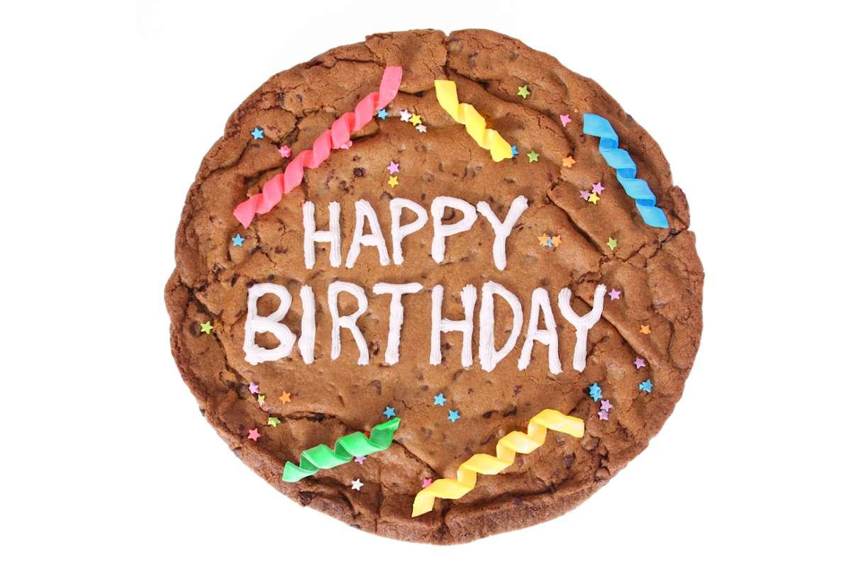 Happy Birthday Cookiegram Cookiegrams Cookie Deliveryca Montral