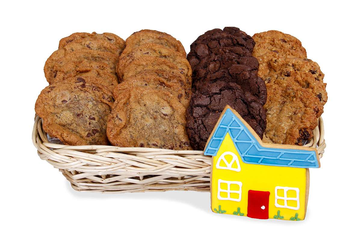 House gift basket gift baskets cookie delivery montral enlarge house gift basket negle Choice Image
