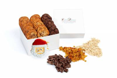 Mini Cookies for Santa Gift Box