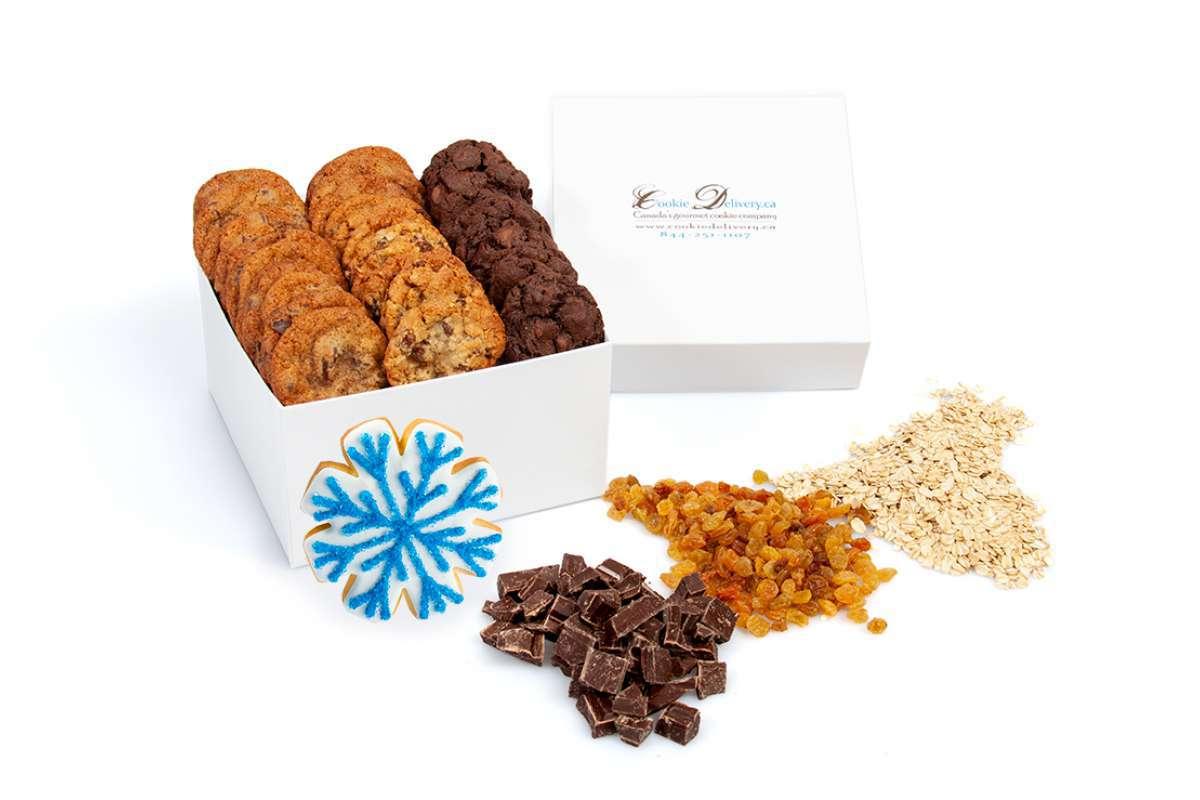 Mini Snowflake Holiday Christmas Box   Christmas Boxes - Mini ...