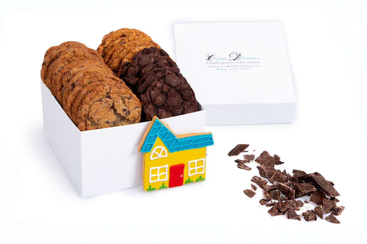 Nouvelle maison boite cadeau bo tes cadeau cookie montr al - Idee cadeau nouvelle maison ...